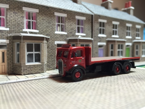 """Bagshot Terrace receives a delivery"""