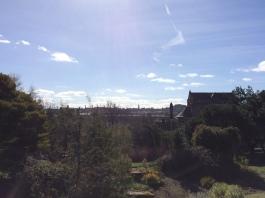 The Edinburgh city skyline