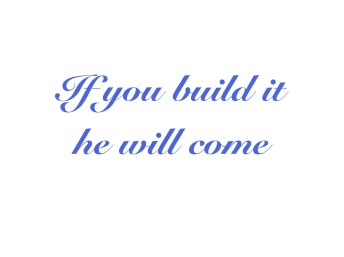 Build it quote copy