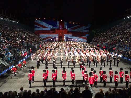 The full cast - Royal Edinburgh Military Tattoo 2016