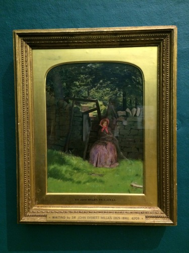 Waiting, John Everett Millais (1829-1896)