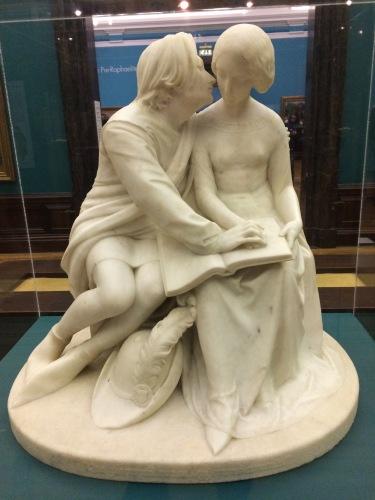 Pablo and Francesca, 1852, Alexander Munro