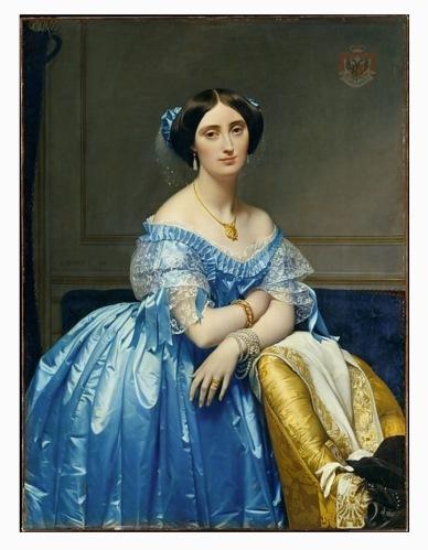 Joséphine-Éléonore-Marie-Pauline de Galard de Brassac de Béarn (1825–1860), Princesse de Broglie, Jean Auguste Dominique Ingres (French, Montauban 1780–1867 Paris)