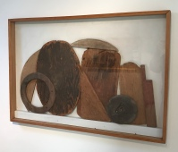 Margaret Mellis: Driftwood Relief Three (1980)