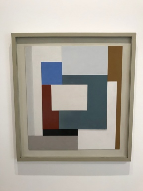 Ben Nicholson: 1939 (painted relief)
